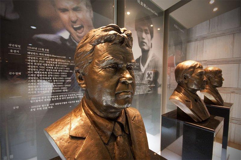 Guus Hiddink big in South Korea
