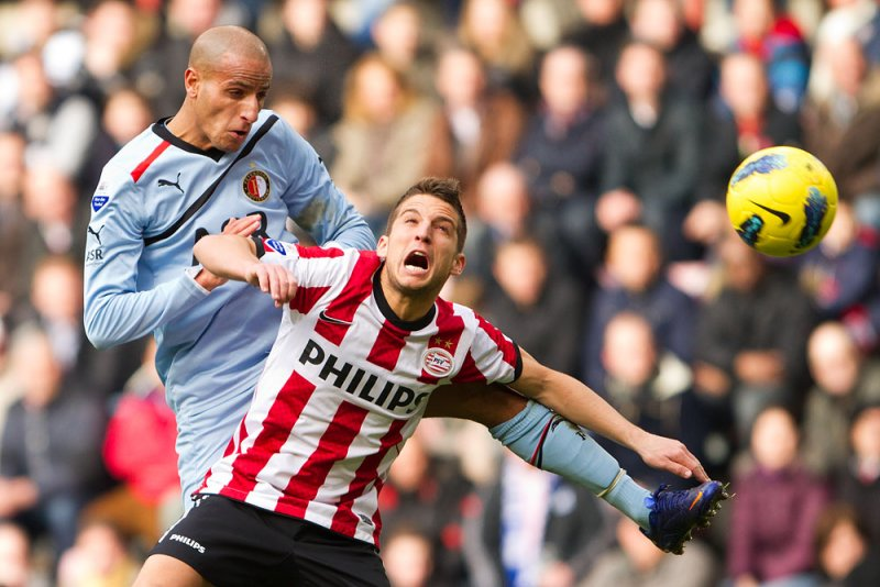 Dries Mertens and Karim El Ahmadi