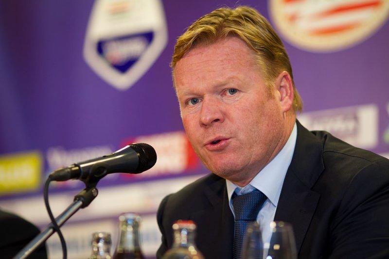 Feyenoord coach Ronald Koeman