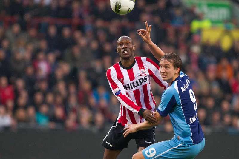 Atiba Hutchinson and Luuk de Jong