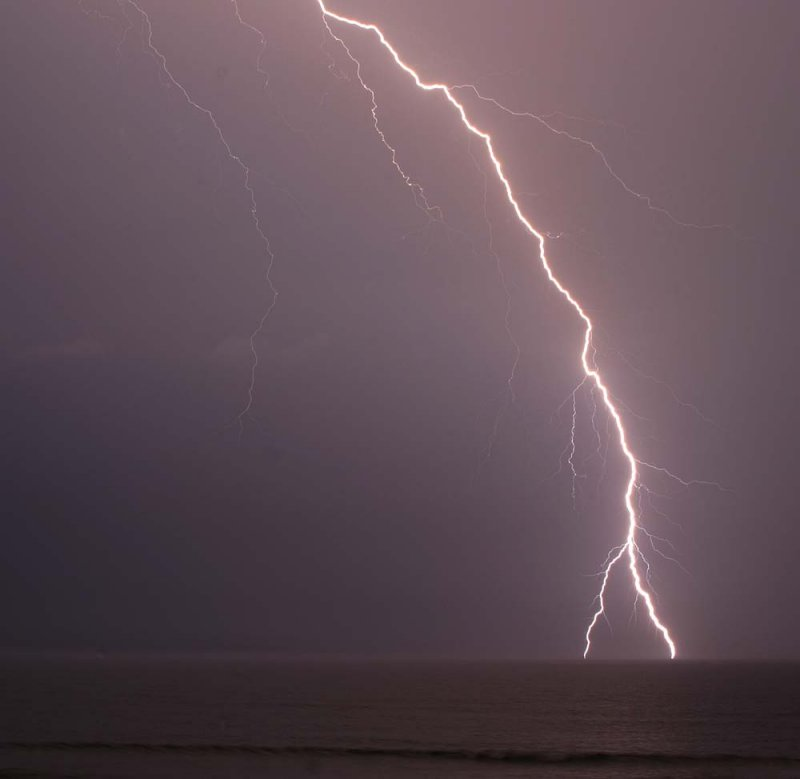 Summer Storm off the Outer Banks