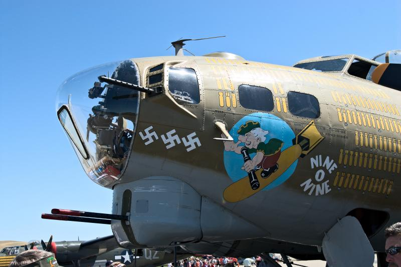Nine O Nine Nose Art