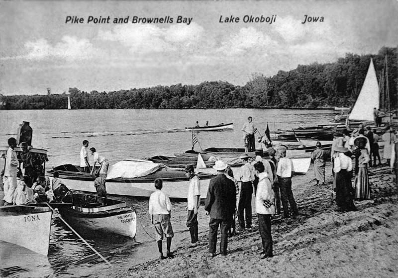 Pikes Point and Brownells Bay 1911