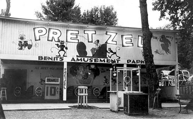 Pretzel Ticket Booth 1930s