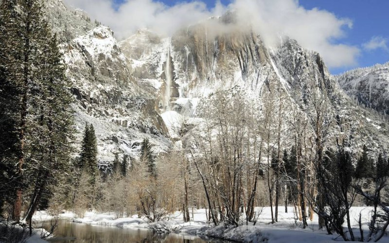 Winter Over Yosemite