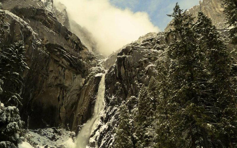 My Favorite of the Gallery - Lower Yosemite Falls