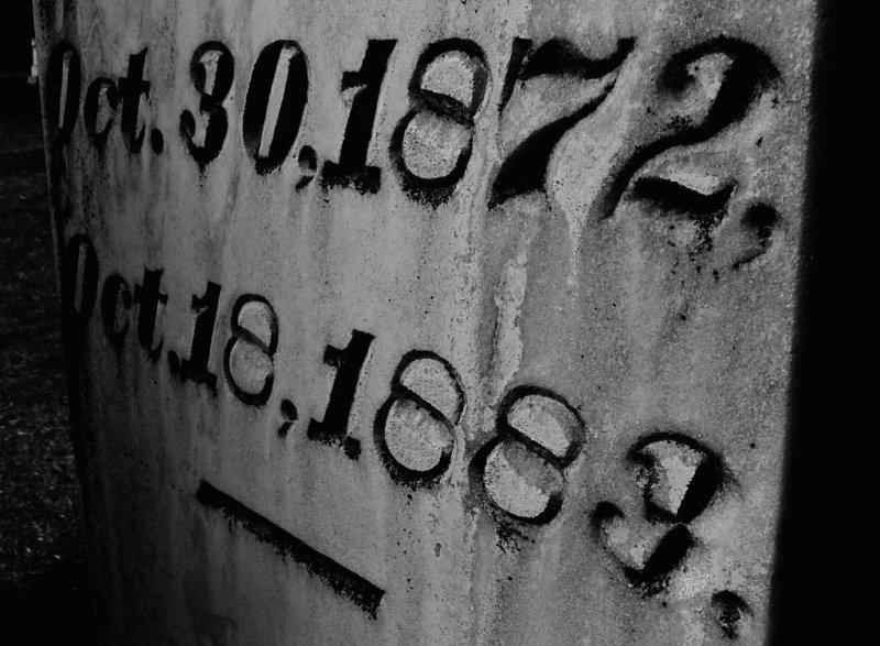 Headstone, Garden of Memories Cemetery, Salinas