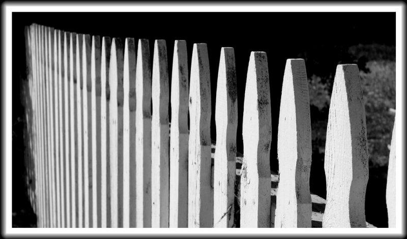 Fence, Spreckels, California