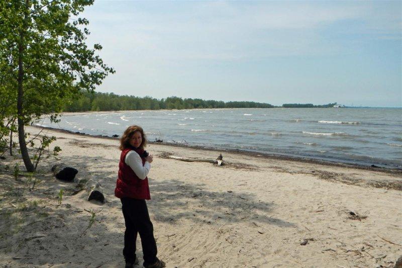 Beach at Sheldon Marsh