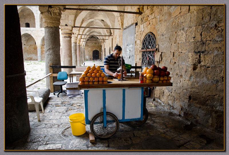 The orange juice bar