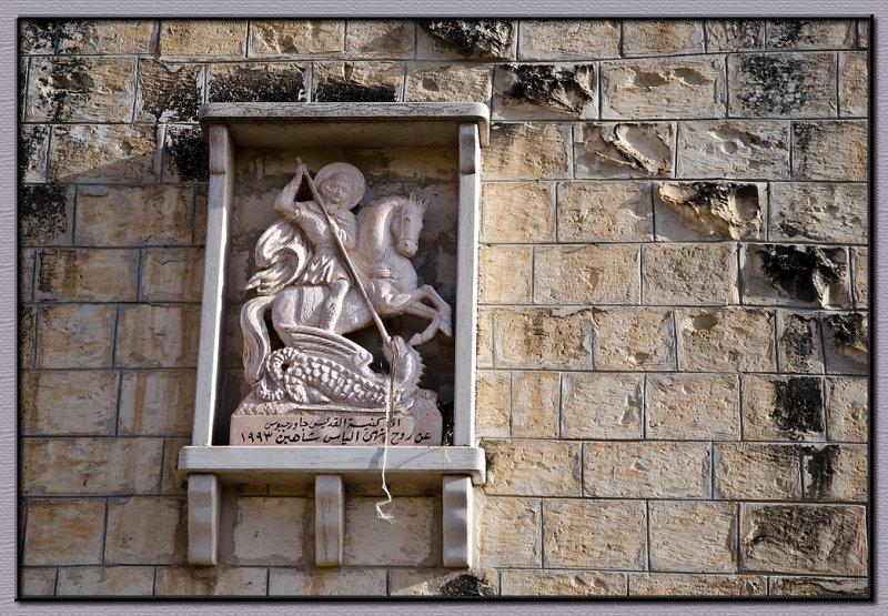 A church relief in Tarshiha