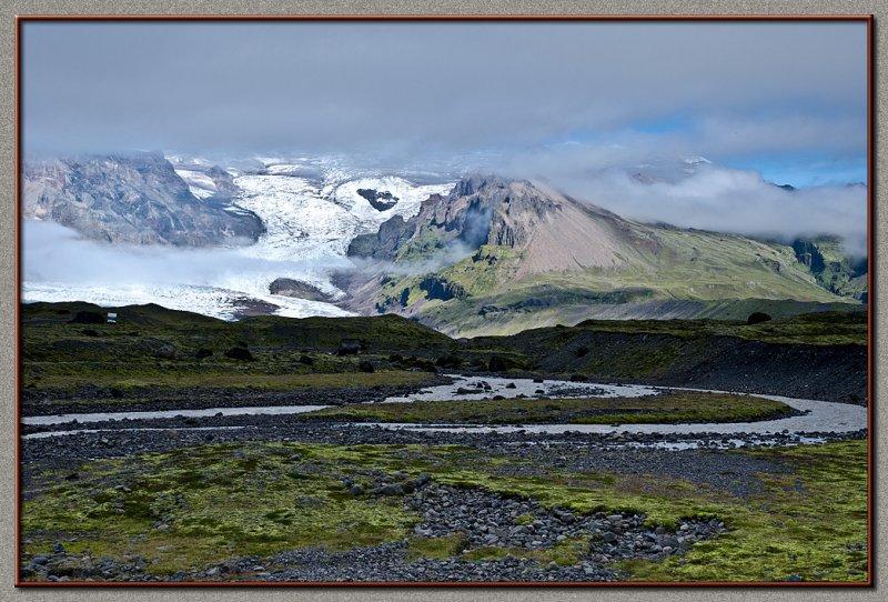 Land of icebergs