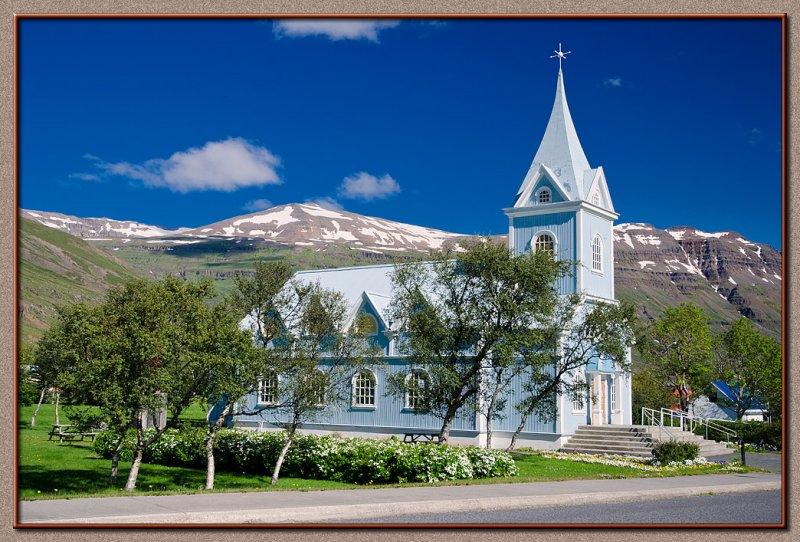 The church in Seydisfjordur