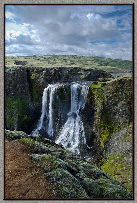 Fagrifoss (Lakagigur, The Interior, Iceland)