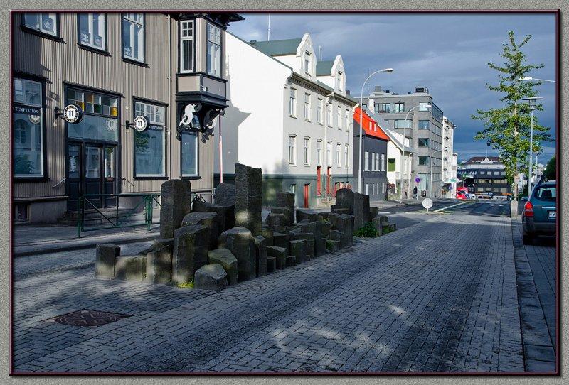 Reykjavik main street
