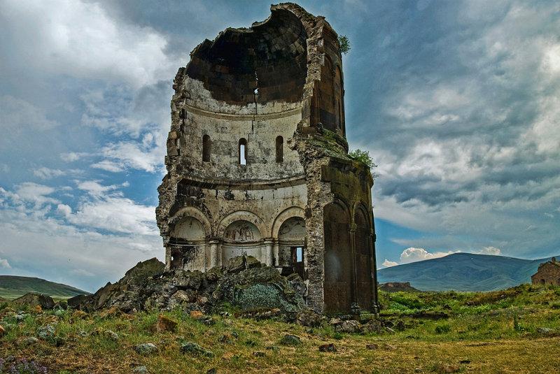 Ruins of Ani. Armenian ancient capital.