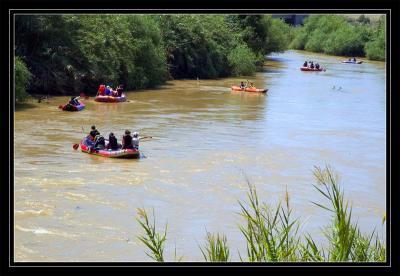 Rafting - Aric bridge