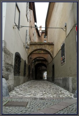 Ljubliana, the capital city of Slovenia