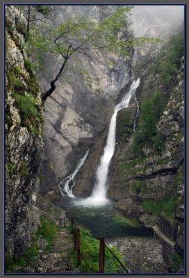 Savice fall, Bohini lake