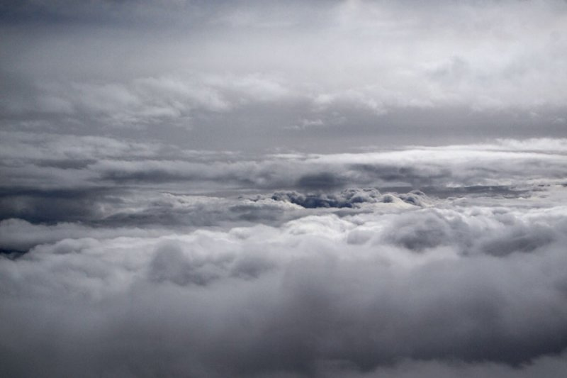 Stylized cloud formations