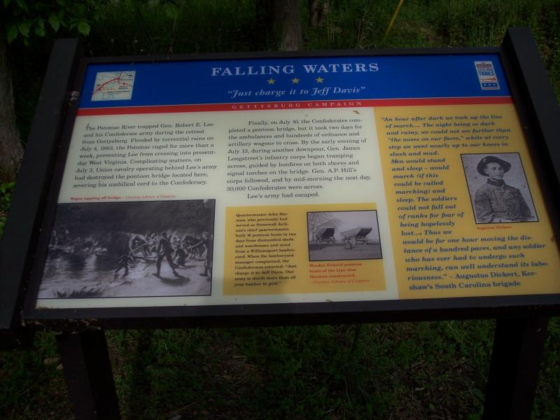 The information at Falling Waters