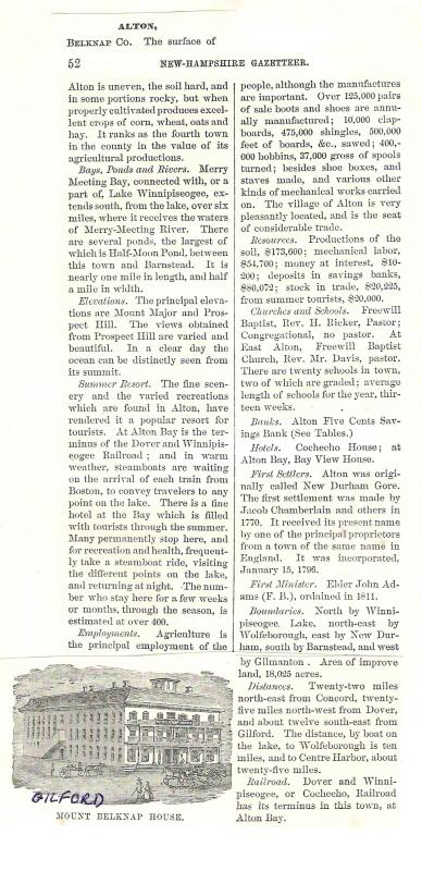 Alton - 1874 Gazetteer