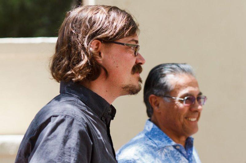 Adjunct Professor John Roby and Dr. Don Pepion