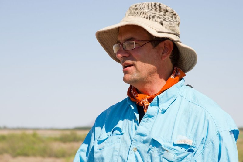 Field School Director Dr. Bill Walker