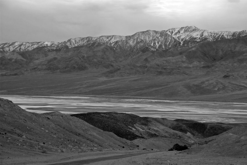 Winter above Death Valley #1