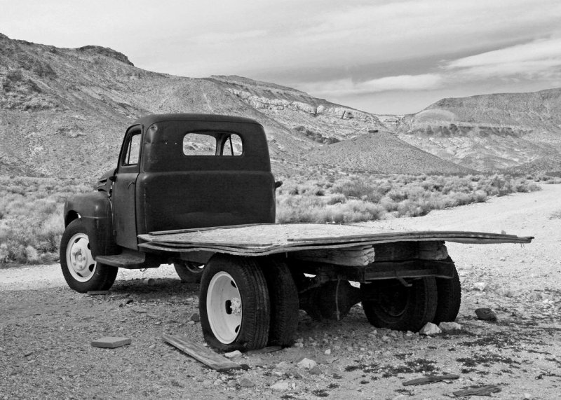 Rhyolite -- Abandoned mining town #4