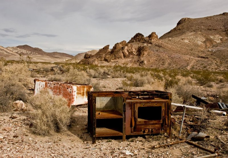 Rhyolite -- Abandoned mining town #8
