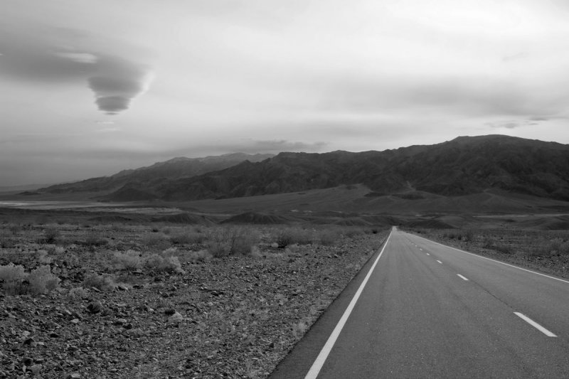 Death Valley -- storm approaching