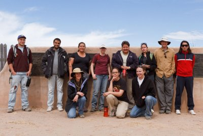 Archaeological Mapping Class, Spring 2011