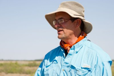 Field School Director Dr. Bill Walker