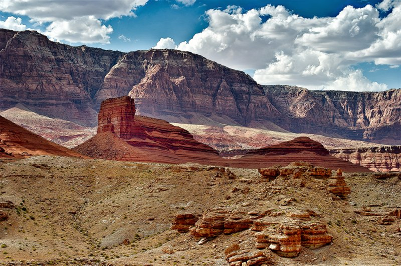 The Marble Canyon