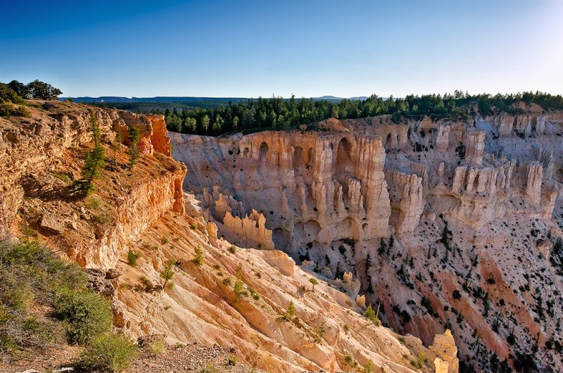 The Bryce Canyon