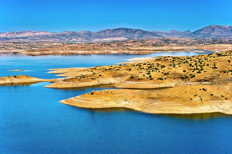 Reservoir in Tadla-Azilal Region