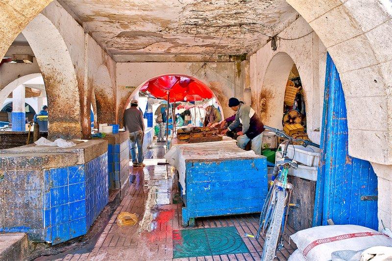 Essaouira Fishmarket