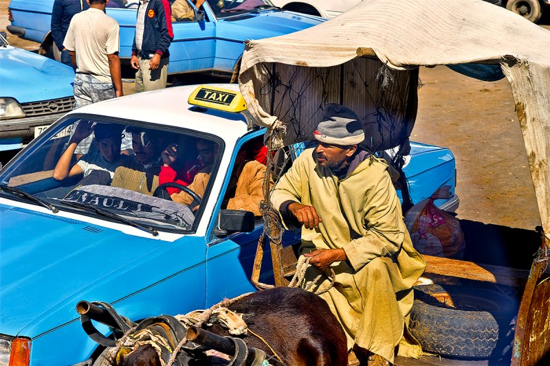 Sebt Gzoula Street Life