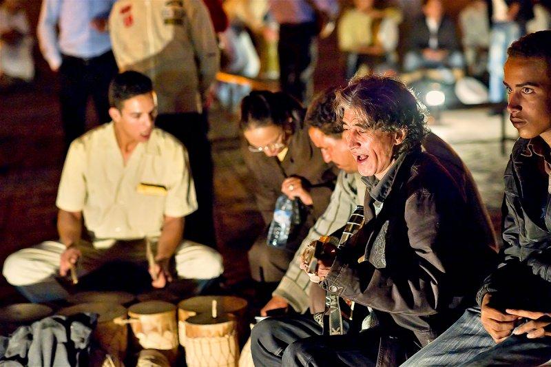 Performance at Djemaa el Fna