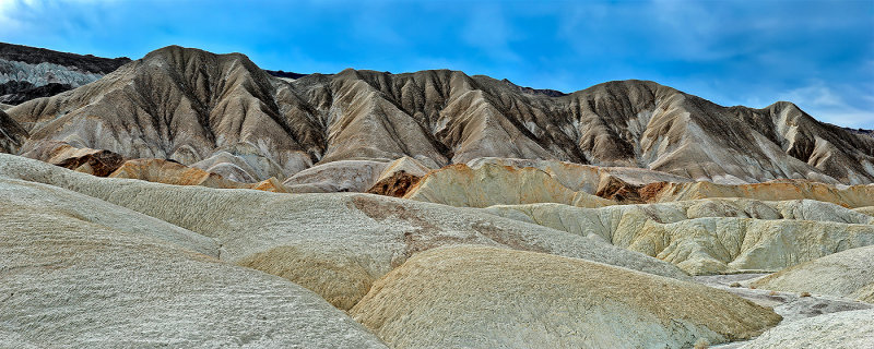 Death Valley - Badland Formations