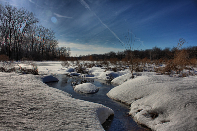 Winter Landscape in HDR<BR>March 3, 2011
