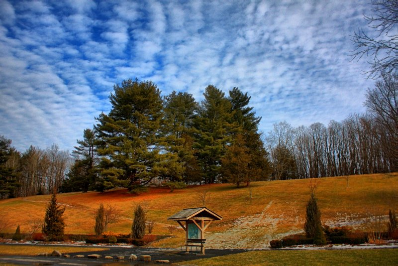Tawasentha Park in HDR<BR>January 28, 2012