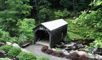 Copeland Covered Bridge<BR>PaD - June 4, 2006