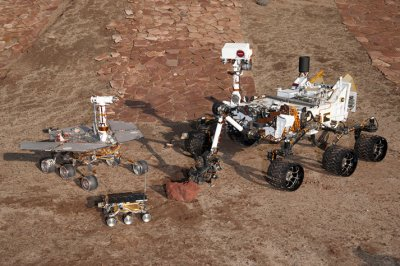 Mars Science Laboratory rover