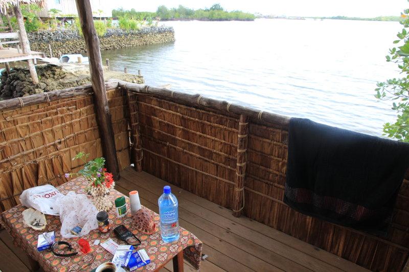 My bungalow at Serahs