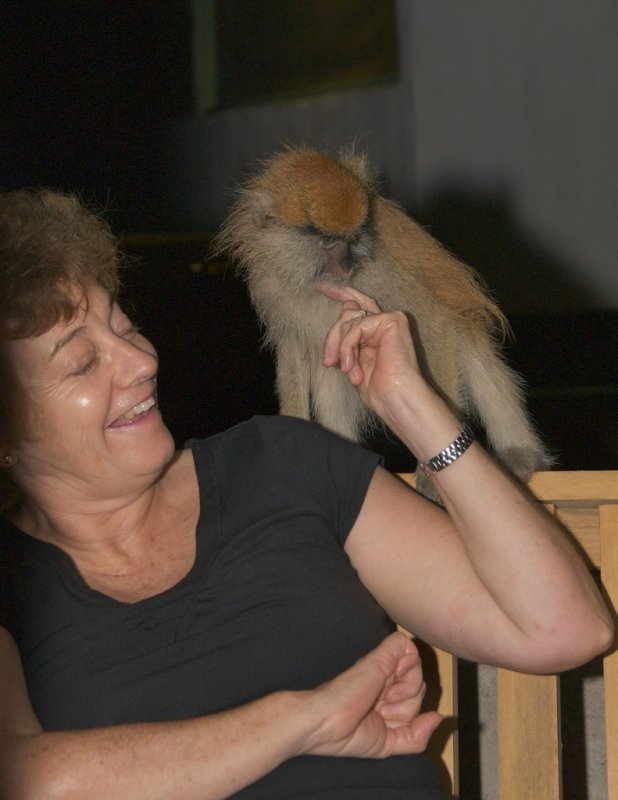 Denise and Friend