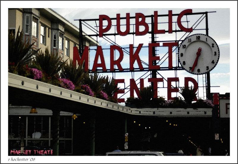 Pikes Street Market entrance