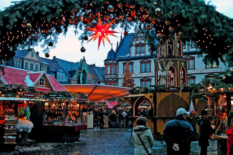 Christmas market in Coburg