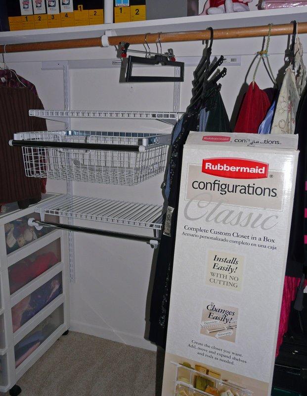 Rubbermaid Configurations Closet